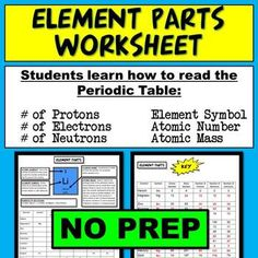 Nova Hunting The Elements Video Worksheet Chemistry Worksheets