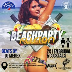 #Ready con #Erika2015AndDjMerex este Domingo 30/08 from 6pm @AguamarinaLoung #AguaBarJD #DjMerex [LiveMusic] #AfterBeachFusionParty by #RonBrugalRD #BrugalFusion Dale Sabor a tu rumba!
