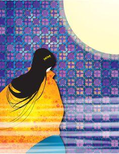 The golden comb Japanese Mythology, Japanese, Painting, Folk Tales, Art, Mythology, Folk