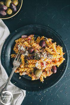 vegaaninen tonnikalapasta / Hannan soppa