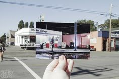 "And the photos match up perfectly with some of Storybrooke's IRL landmarks. | A ""Once Upon A Time"" Fan Recreated The Series In The Coolest Way"