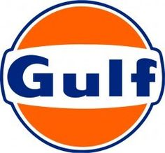 Gulf Oil Gasoline Baked Enamel Metal Advertising Sign Vintage Reproduction Gas Oil Garage Art Wall D Garage Signs, Garage Art, Logo Ford, Corsa Classic, Pompe A Essence, Oil Service, Posters Vintage, Old Gas Stations, Vintage Metal Signs