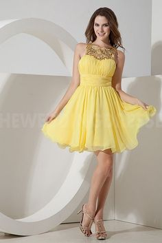 Strapless Elegant Yellow Homecoming Dresses - Order Link: http://www.theweddingdresses.com/strapless-elegant-yellow-homecoming-dresses-twdn4557.html - Embellishments: Sequin; Length: Floor Length; Fabric: Chiffon; Waist: Natural - Price: 147.1857USD
