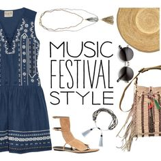 Festival Style by junglover on Polyvore featuring Sea, New York, Gucci, Ralph Lauren, Tai, Rosantica, Hat Attack, coachella, musicfestivalstyle, polyvoreeditorial and polyvorecontest