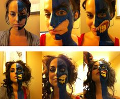 Amazing! I kinda want to do this Lady Two-Face cosplay one day!