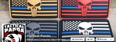 We're a small USA-based business specializing in every day carry gear, vinyl decals, velcro morale patches and other miscellaneous products geared towards First Responders, Law Enforcement, Veterans and Gun Owners. https://www.facebook.com/tacticalpandaus/