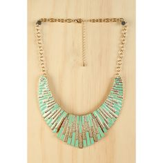 Amazon Queen Necklace found on Polyvore