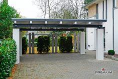 Terrassendach Freistehend Mit Betons Ulen Garten