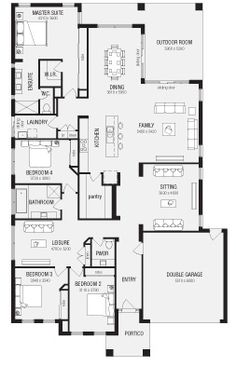 Chelsea, New Home Floor Plans, Interactive House Plans - Metricon Homes - Melbourne