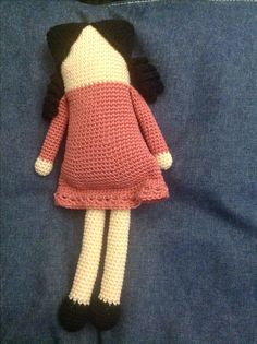Muñeca Quadrada Amigurumi