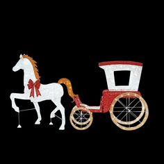 Home Accents Holiday 52 in. LED Lighted Horse with 52 in. LED Lighted Acrylic Sleigh at The Home Depot - Mobile Indoor Christmas Lights, Christmas Light Show, Christmas Yard Decorations, Holiday Decor, Outdoor Santa, Indoor Outdoor, Horse And Buggy, Horse Carriage, Beautiful Christmas