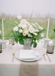 Stunning coastal Micro-Wedding Inspiration with beautiful florals | Oregon Wedding Inspiration Coastal Wedding Inspiration, Romantic Table, Seattle Wedding, Wedding Shoot, Floral Design, Wedding Invitations, Bouquet, Table Decorations, Bridal
