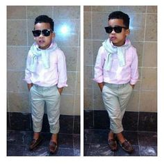 If I had a son, I would dress him like this!
