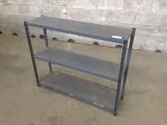 INDUSTRIAL UPCYCLE!!! Small Metal Shelf | Second Use, Seattle: Building Materials, Salvage, & Deconstruction