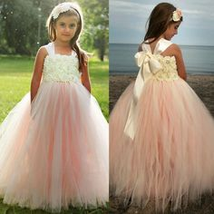 Some Ideas for Your Beach Wedding Flower Girl Dresses Check more image at http://bybrilliant.com/303/beach-wedding-flower-girl-dresses