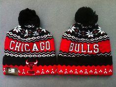 8b1b8276678 Chicago Bulls Bonnet New Era Rouge Noir   Casquette Pas Cher. Cheap BeaniesNew  ...