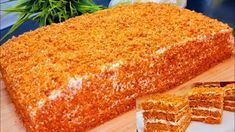 This Cake Just Melts in Your Mouth NO TEETH REQUIRED 😉EASY and tasty honey cake RECEPIE - YouTube Honey Cake, Melt In Your Mouth, Cake Recepie, Cornbread, Cake Decorating, Ethnic Recipes, Food, Cookie, Youtube
