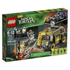 LEGO� Teenage Mutant Ninja Turtles� 79115 Turtle Van Takedown