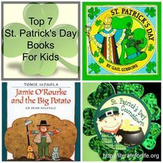 St. Patrick's Day is an enchanted time – a day to begin transforming winter's dreams into summer's magic. ~Adrienne Cook Rush to your local library and check out the following books just in time for St. Patrick's Day. It's time to get your Irish on. You and your kids will love the following books. 1. …