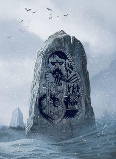 ArtStation - Godstone - The Banner Saga fanart, Michał Grabowski