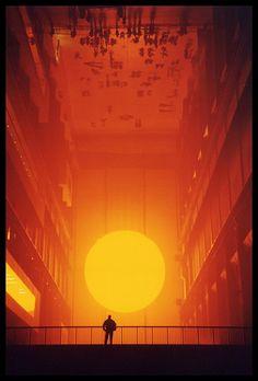 olafur Eliasson, weather project, tate modern