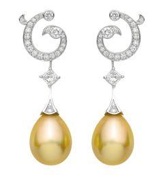 Napoli earrings by Van Cleef & Arpels