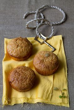 Lemon Curd Marble Muffins by Migle Seikyte, via Flickr