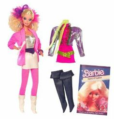 Barbie My Favorite Time Capsule 1986 Rockers doll by Mattel. $39.99. Barbie and the Rockers doll and period fashion return. Now is your opportunity to reconnect with a long-lost friend. Includes a reproduction Barbie doll, an extra reproduction fashion from the era and a collector's booklet. In celebration of Barbie doll's 50th anniversary, Barbie and the Rockers doll and period fashion return. Collect them all while the celebration lasts. From the Manufacturer        ...