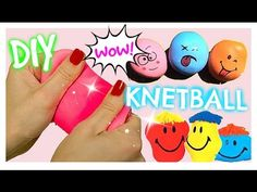 DIY ANTI STRESS BALL I BACK TO SCHOOL KNETBALLONS I PatDIY Lee - YouTube
