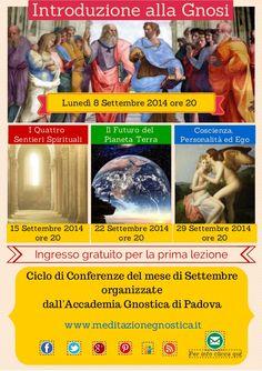 Introduzione alla Gnosi Programma Settembre by Meditazione Gnostica via slideshare