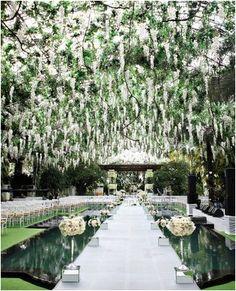 winter forest wedding