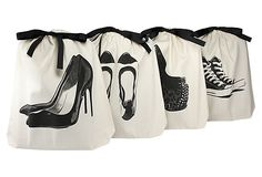 S/4 Women's Shoe Bags, Natural on OneKingsLane.com. Love these!