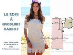 Diy summer dress: l'incontournable robe encolure Bardot, style bohème élue la pièce mode de l'été plusieurs tutos couture gratuits pour faire soi-même, une sélection de modèles à volants épaules dénudées