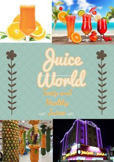 Juice World: http://juiceworld.com.sa  - Juice Center with top quality healthy and fresh juices!!!