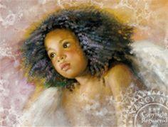 Nancy Noel Art Angels | nancy noel limited edition giclee on canvas nyasha item noel 17