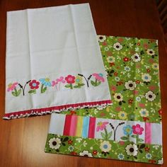 New tea towel pattern from Janelle Wind. I have this one in a magazine.