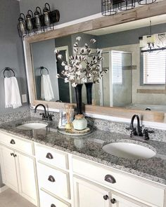 diy bathroom remodel ideas is totally important for your home. Whether you choose the serene bathroom or bathroom remodel beadboard, you will create the best diy bathroom remodel ideas for your own life. Master Bath Remodel, Tub Remodel, Remodel Bathroom, Bathroom Inspiration, Bathroom Ideas, Bathroom Colors, Bathroom Designs, Simple Bathroom, Mirror Inspiration