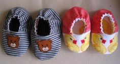 Free PDF pattern for soft baby shoes! Definitely need to attempt these.: