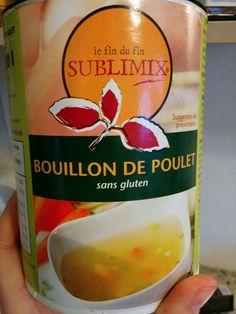kippenbouillon gluten en lactosevrij Op de markt