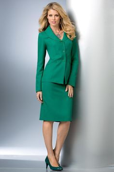 Shawl Collar Skirtsuit Misses Dress Suits, Skirt Suits, Women's Suits, Nice Dresses, Amazing Dresses, Affordable Dresses, Professional Outfits, Suits For Women, Ladies Suits