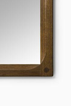 Aksel Kjersgaard mirror in teak by Odder at Studio Schalling