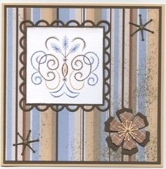 a693 Paper Embroidery, Card Ideas, Stitching, Scrapbook, Fantasy, Frame, Pattern, Cards, Beautiful