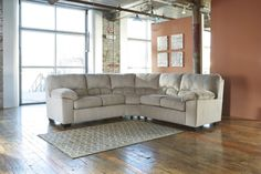 Greatly prefer this style, with the curved center section, even more so -- Dailey Contemporary Alloy Fabric Living Room Set