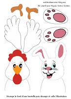 Jeu à fabriquer pour Pâques