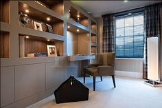 Richmond, London Project, Interior Design Portfolio, Hill House Interiors are a London based Interior Design company with a showroom in Elystan Street London SW3 and offices in Weybridge, Surrey