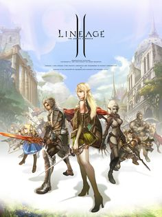 Lineage II fan art by Juno Jeong