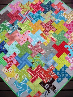 Tessellation Quilt by Red Pepper Quilts (Flickr)