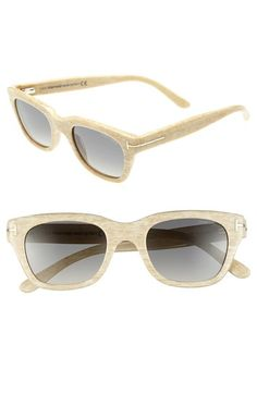 Tom Ford 'Snowdon'50mm Sunglasses