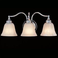 Feiss Bristol 3 Light Bath Vanity Light