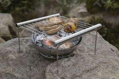 Раскладной мангал для гриля Liliput Grilliput Portable BBQ